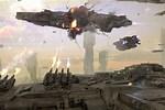 Dreadnought Epic Space Battle Scenes