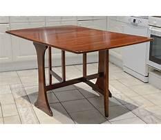 Drop leaf gateleg table plans Video