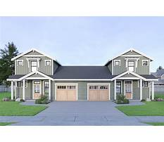 Duplex plans with bonus room Video