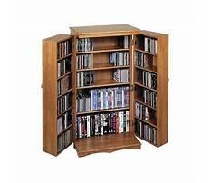 Dvd media cabinet with doors Video