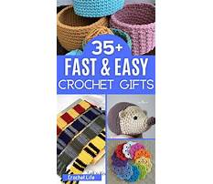 Easy crochet ideas for gifts Video