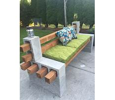 Easy diy outdoor furniture Video