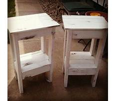 Easy night stand wood plans Video