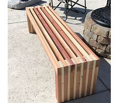 Easy to build furniture plans Video