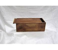 Easy woodworking boxes Video