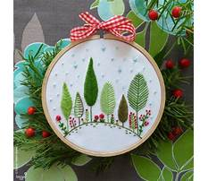 Embroidery patterns christmas Video