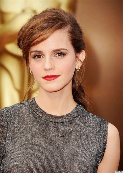 Emma Watson Makeup Oscars