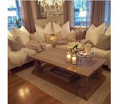 End table living room country decor Video