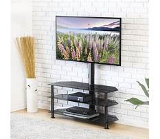 Entertainment center swivel stand Video