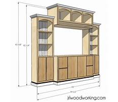 Entertainment center woodworking plans free Video