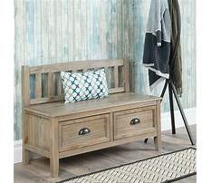 Entryway and mudroom benches Video