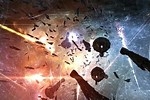 Eve Online Space Battle