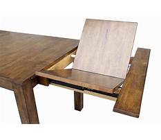 Extension dining room table plans Video