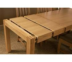 Extension dining table plans Video