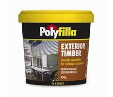 Exterior filler for wood.aspx Video