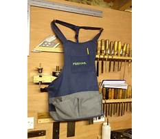 Festool woodworking shop apron Video