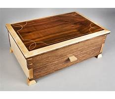 Fine woodworking elegant box Video