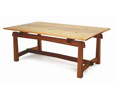 Fine woodworking mahogany coffee table Video