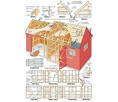 Fine woodworking shed plans Video