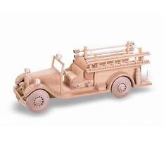 Fire truck wood craft Video
