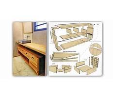 Floating vanity woodworking plans Video