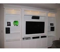 Floor to ceiling entertainment center plans Video