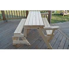 Folding bench instructions Video