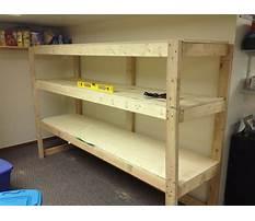 Free basement wood shelving plans Video
