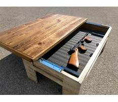 Free coffee table with drawer plans Video