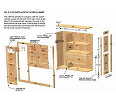 Free custom kitchen cabinet plans Video