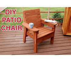 Free deck chair woodworking plans Video