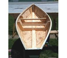 Free diy wooden boat plans Video