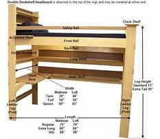 Free dorm loft bed plans Video