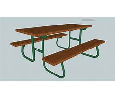 Free folding picnic table plans.aspx Video