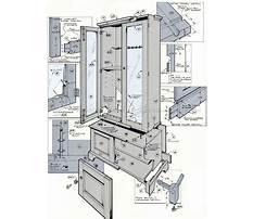 Free gun cabinet woodworking plans Video
