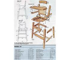 Free high chair building plans Video