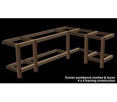 Free l shaped workbench plans Video