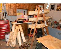 Free log furniture woodworking plans Video