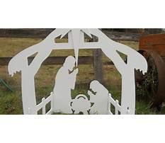 Free outdoor manger scene plans Video