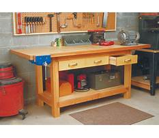 Free plans build shop table Video
