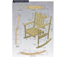 Free plans for a wooden rocking chair Video