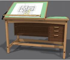 Free plans for drafting table Video