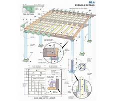 Free plans for wooden pergola details Video