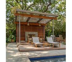 Free plans for wooden pergola with polycarbonate Video