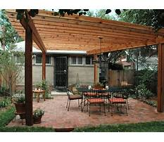 Free plans for wooden pergolas Video