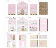 Free printable dollhouse furniture patterns Video