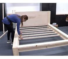 Free queen bed frame designs Video