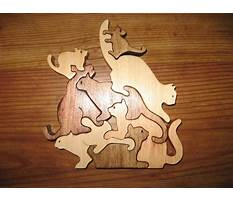 Free scroll saw animal puzzles Video