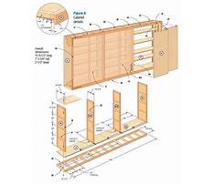 Free shop storage cabinet plans Video
