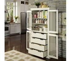 Free standing kitchen pantry cabinet home depot Video